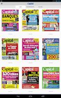 Screenshot of Capital le magazine