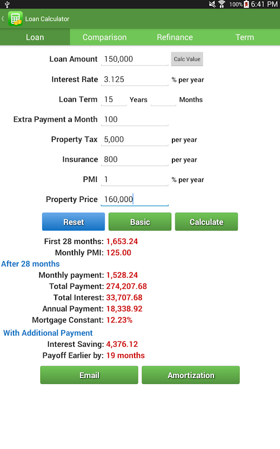 Financial Calculators Pro Screenshot 11