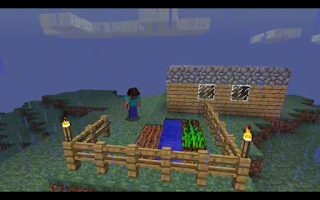 Screenshot of Music Videos Minecraft