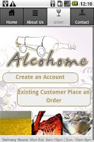 Screenshot of Alcohome