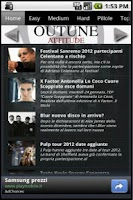 Screenshot of Outune - Musica news e video