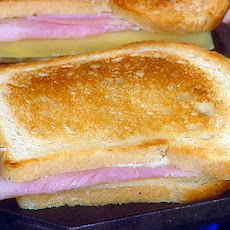 Croque Monsieurs a la Rachelle  My take on French grilled cheese and ham sammys