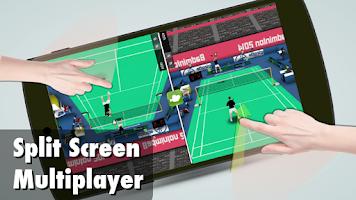Screenshot of Badminton 3D