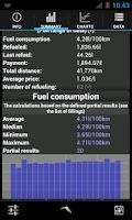 Screenshot of Refuel Calc