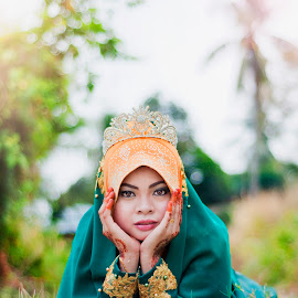 by Kamal Arifin - People Portraits of Women