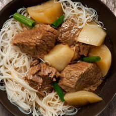 Chinese Brisket and Turnip Stew Recipe