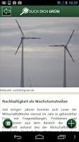 Screenshot of Such Dich Grün