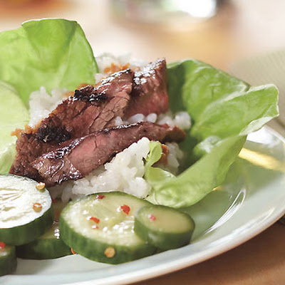 Grilled Short Ribs with Miso