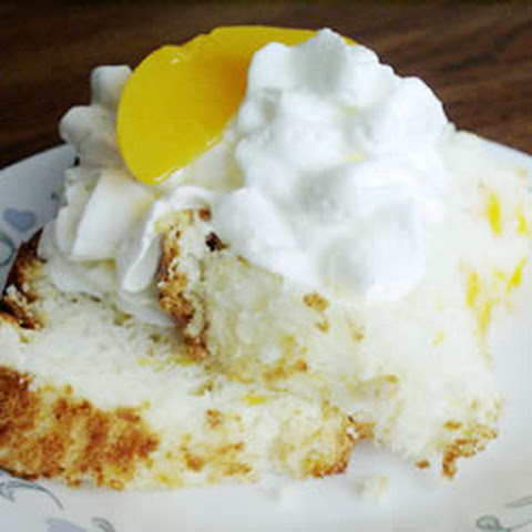 Angel Food Cake Mix With Peach Pie Filling
