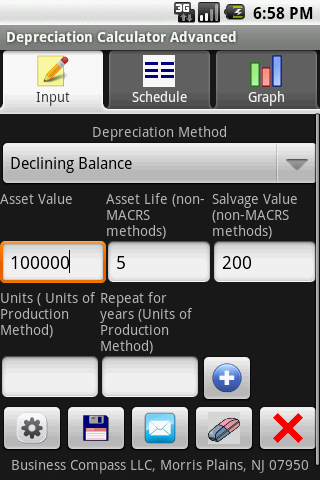 Depreciation Calculator Advanc