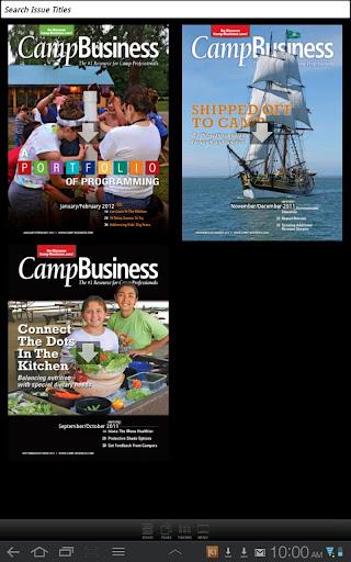 Camp Business Magazine