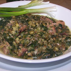Hearty Whole Mung Bean Soup
