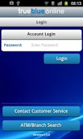 Screenshot of CapFed® Mobile Banking