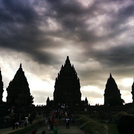 Candi Prambanan by Brian Biian - Buildings & Architecture Statues & Monuments