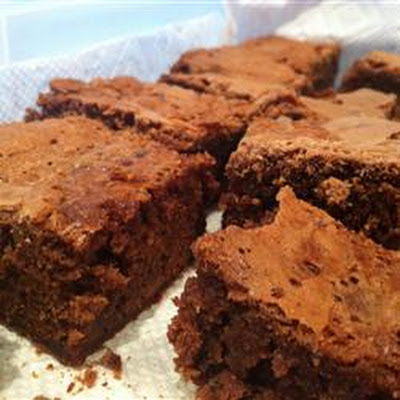 Double Batch Caramel Brownies