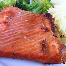 Chinese Barbequed Salmon