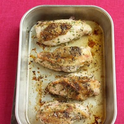 Parmesan-Stuffed Chicken Breasts