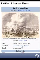Screenshot of American Civil War Daily Lite
