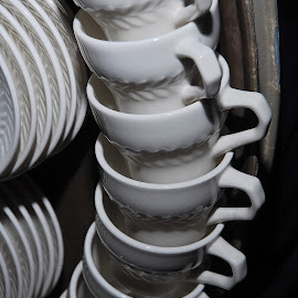 by Jeff Fox - Artistic Objects Cups, Plates & Utensils
