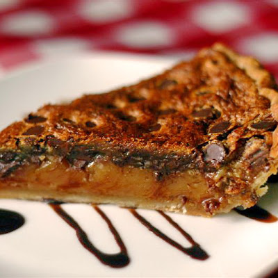 "Quick and Easy Chocolate Chip ""Butter Tart"" Pie"