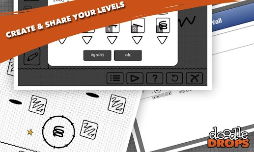 Game Doodle Drops : Physics Puzzler apk for kindle fire ...