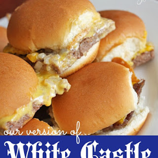 Our Version of White Castle Sliders