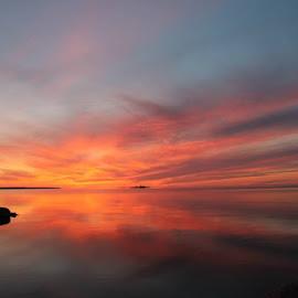 Collingwood Sunset by Thomas Brindisi - Landscapes Sunsets & Sunrises