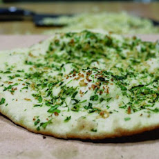 Garlic-Cilantro Naan Recipe