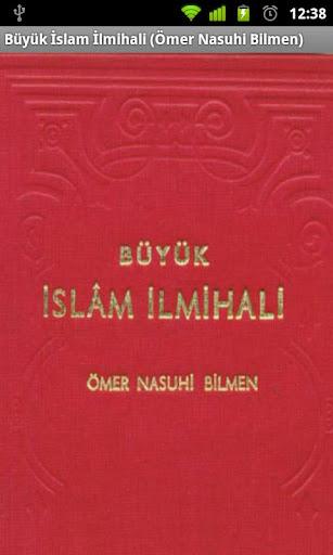 Büyük İslam İlmihali ÖNB