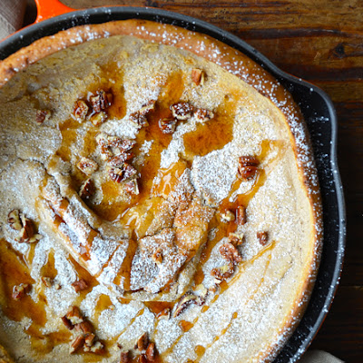 Pumpkin Spice Dutch Baby Pancake
