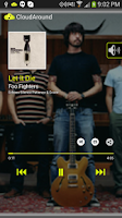 Screenshot of CloudAround Music Player