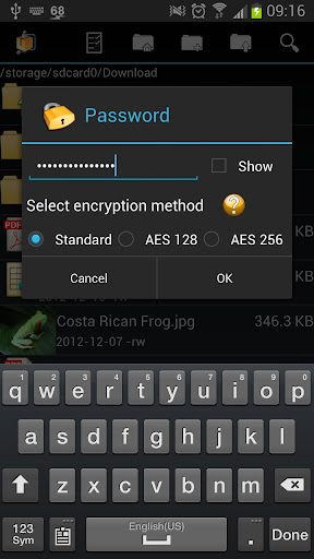 AndroZip PRO File Manager - screenshot