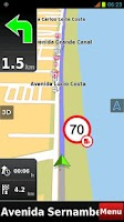 Screenshot of RotaCerta HD GPS