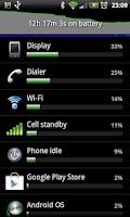 Screenshot of Battery HD Level Widget PRO
