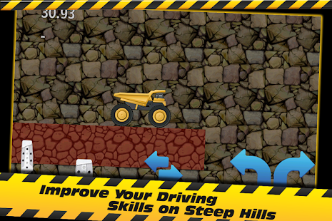 Uphill Dump Truck Racing - screenshot