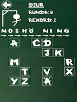 Screenshot of Hangman (Swedish)