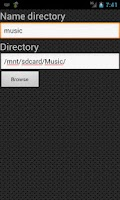Screenshot of Samba Server