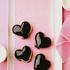 Chocolate Eclair Hearts