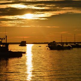 A Golden Sunrise by Rob Kovacs - Novices Only Landscapes (  )
