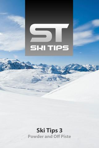 SkiTips 3 - Powder Off Piste