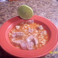 Fideo Sopa Con Puerco (Fideo Pasta With Pork Soup)