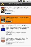 Screenshot of BookSwapDroid FREE