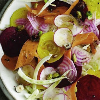 Raw Root Vegetable Salad From 'Joy of Kosher'