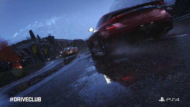 Evolution reveals Driveclub's weather system with rain worthy of the UK