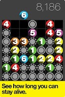 Screenshot of Drop7 by Zynga