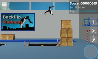 Screenshot of Backflip Madness