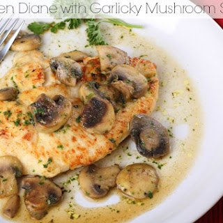 Chicken Diane with Garlicky Mushroom Sauce