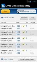 Screenshot of Rail Planner Live