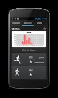 Screenshot of Trainer PRO Run, walk & bike