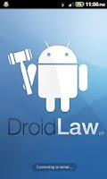 Screenshot of DroidLaw